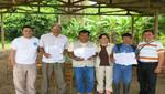 Sernanp y Organizaciones de Manejo suscriben contratos de aprovechamiento de aguaje