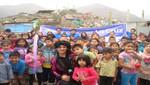 Inversiones La Cruz llevó ayuda a niños de Villa María del Triunfo