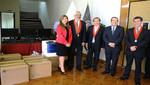 DEVIDA entregó equipos informáticos a la Corte Superior de Justicia de Lima para mejorar servicios