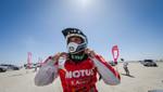Dakar 2015: Felipe Ríos en motos sigue liderando el grupo de peruanos
