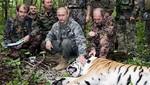 Vladimir Putin es acusado de haber asesinado a un tigre siberanio