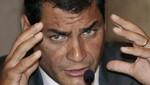 Amenazan de muerte a Rafael Correa por Twitter