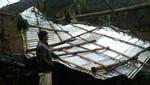 Vientos fuertes dejan 65 familias afectadas en Huancavelica