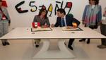 Ministra Silva acuerda con su homólogo de España acciones conjuntas para fomentar el turismo en los próximos años