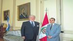 Embajador José Luis Pérez Sánchez Cerro: Perú - Argentina, una relación fructífera