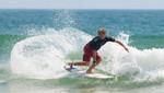 Miguel Tudela se metió en tercera ronda del Circuito Mundial de Surf en Australia