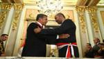 Presidente Ollanta Humala Tasso tomó juramento a nuevos ministros de Estado