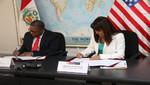 Estados Unidos y Perú firman convenio de cooperación en beneficio de las pymes