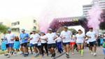 Cientos de familias participaron en Carrera 5k en rechazo al consumo de drogas