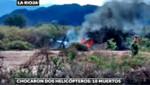 [Argentina] Dos helicópteros chocan en el aire: 10 muertos, 8 franceses y los 2 pilotos argentinos