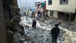 INDECI moviliza hacia Chosica un grupo de intervención  rápida para emergencias y desastres
