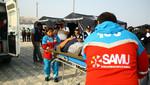Minsa instala carpas para atención de salud y albergues para familias damnificadas de Chosica