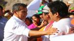 Humala visita zonas afectadas por desastres naturales en Moquegua y Tacna
