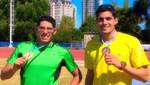 Jorge y Javier MacFarlane logran medalla de oro y bronce en Gran Prix de Atletismo en Argentina