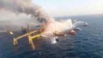 Golfo de México: 15 heridos tras una explosión en una plataforma petrolera