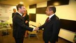 Ollanta Humala dialogó con Mark Zuckerberg