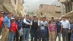 Alcalde de Surco entregó 10 toneladas de ayuda a hermanos de Chosica afectados por huaicos
