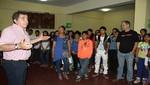 Marcelo Oxenford enseña teatro a estudiantes de la Región Callao