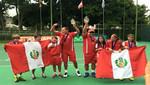 Tenistas peruanos triunfan en Sudamericano de 12 años