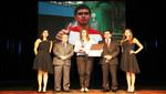 """Diego Elías ganó el Premio Nacional del Deporte 2014 """"Colibrí de Plata"""""""