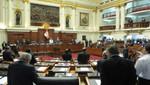 Congreso de la República suspendió por 120 días a congresista Heriberto Benítez