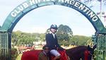 Jinete Noe Ben lamine logró podio en Torneo Internacional en Argentina