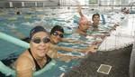 Adultos mayores y personas con habilidades diferentes inician clases de natación en la Villa Deportiva de la Región Callao