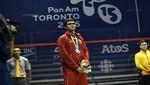Diego Elías logró la medalla de plata en los Juegos Panamericanos de Toronto 2015