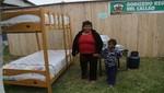 Región callao entrega viviendas pre fabricadas a damnificados de incendio de AA.HH. Cánada