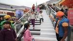 Más de 100 mil personas interactuaron con la primera escalera musical en MegaPlaza