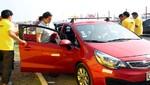 Taxistas también 'rayaron' en Mistura
