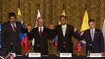 Juan Manuel Santos: Aquí primó la sensatez. Fue un dialogo sereno, respetuoso y constructivo