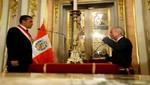 Presidente Humala tomó juramento a Alejandro Vásquez como nuevo ministro de Justicia y Derechos Humanos