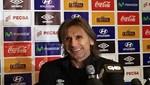 Ricardo Gareca ofreció una conferencia de prensa previo al duelo contra Brasil