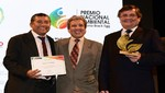 UNACEM obtiene Premio Nacional Ambiental 2015 con proyecto de medición de las huellas de carbono e hídrica