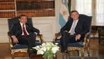 Perú y Argentina expresan interés de dar un nuevo impulso a su relación bilateral