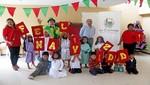 Los niños de Chilca celebran la navidad