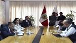 Ministro del Interior y Embajador de EE. UU. firman memorando de entendimiento