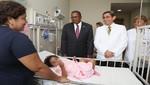 """Ministro de Salud y embajador de EE.UU visitan a niños operados del corazón en el marco del programa """"Más Salud Internacional"""""""