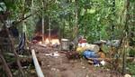 Interdicción minera en la Reserva Nacional Tambopata destruyó balsas y maquinarias