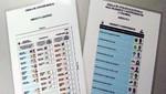 ONPE: Cédulas de sufragio para las Elecciones Generales 2016 tendrán tres cuerpos