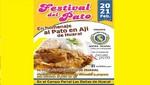 Cerca de 40 empresas participarán en Primer Festival del Pato en Huaral