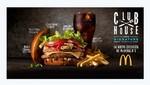 McDonald's se lanza al mercado de hamburguesas gourmet con su nueva creación ClubHouse