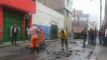 La Victoria: Luego de incendio, municipio clausura local sin licencia
