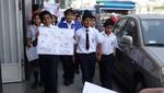 San Luis: niños reclaman puente peatonal