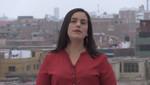 Verónika Mendoza llama a votar por PPK