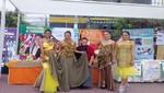 Vestidos confeccionados con papas nativas fueron exhibidos en MegaPlaza