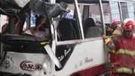 Ancón: Triple choque deja 30 heridos