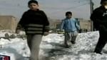 Afganistán: Al menos 40 niños pierden la vida por intensa ola de frio