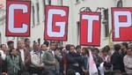 CGTP anuncia apoyo a jugadores que acatan huelga